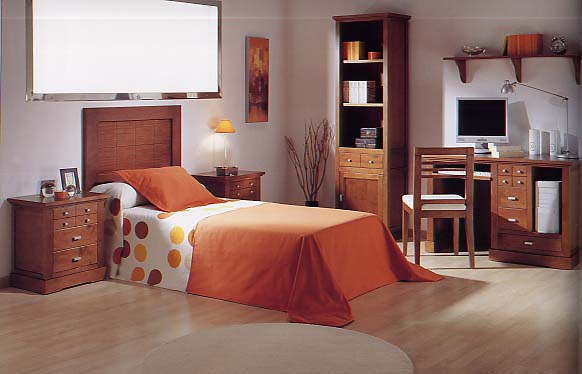 Casa pacha - Dormitorios juveniles madera ...