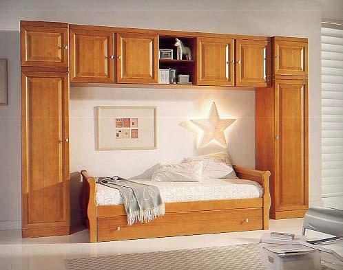 Nela mobiliario de selecci n en villanueva de algaidas - Dormitorios juveniles clasicos madera ...