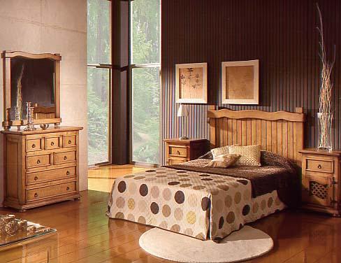 Nela mobiliario de selecci n en villanueva de algaidas - Dormitorios juveniles rusticos ...