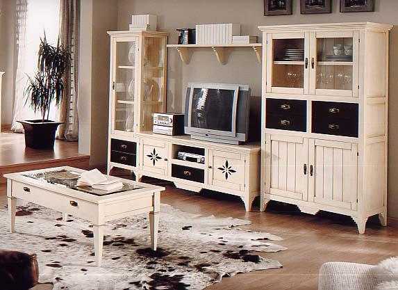 Nela mobiliario de selecci n en villanueva de algaidas - Salones rusticos fotos ...